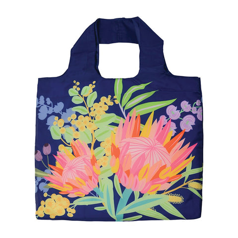 AUSSIE FLORA REUSABLE SHOPPING BAG