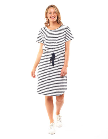 ELM HILDA STRIPE DRESS