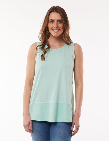 ELM FUNDAMENTAL RIB TANK MINT