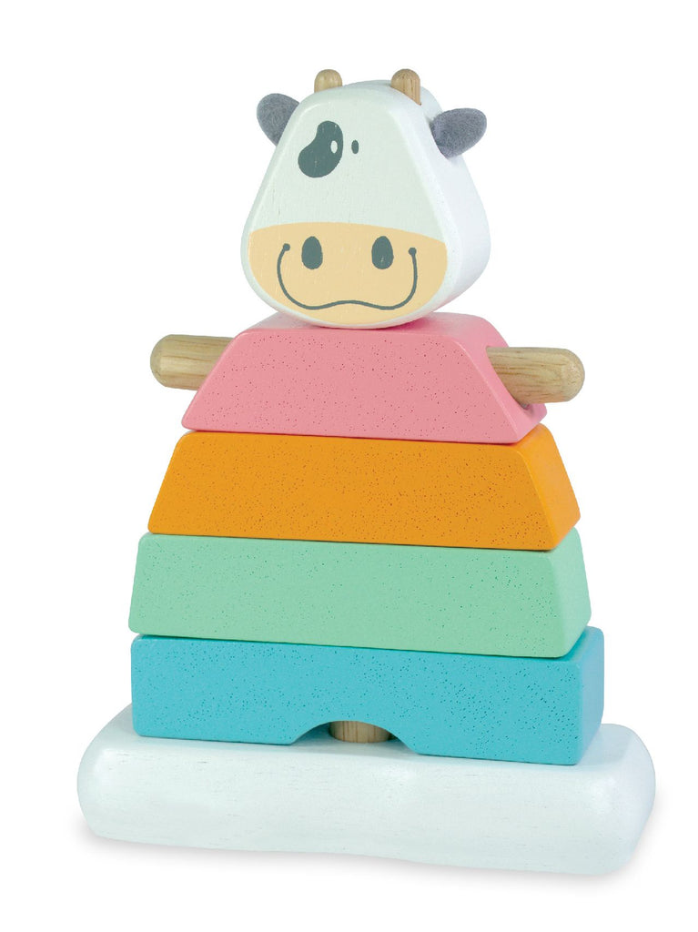 PASTEL STACKING COW