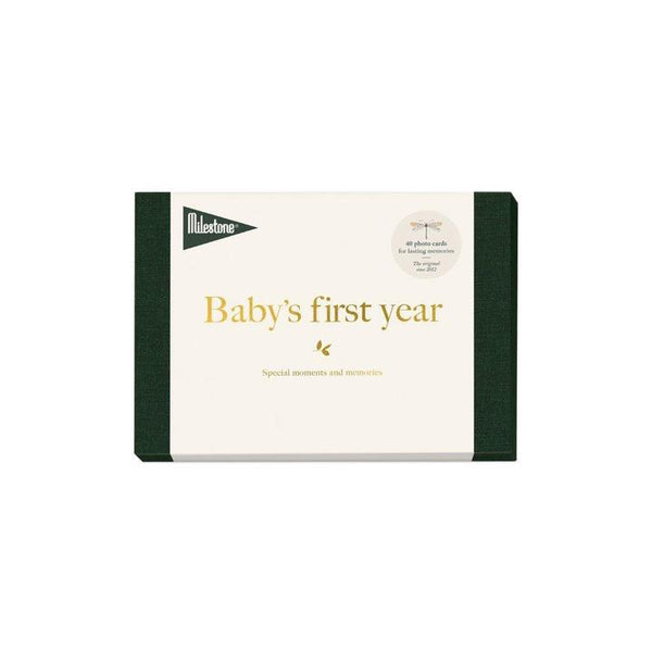 BABY'Y FIRST YEAR MILESTONE CARDS