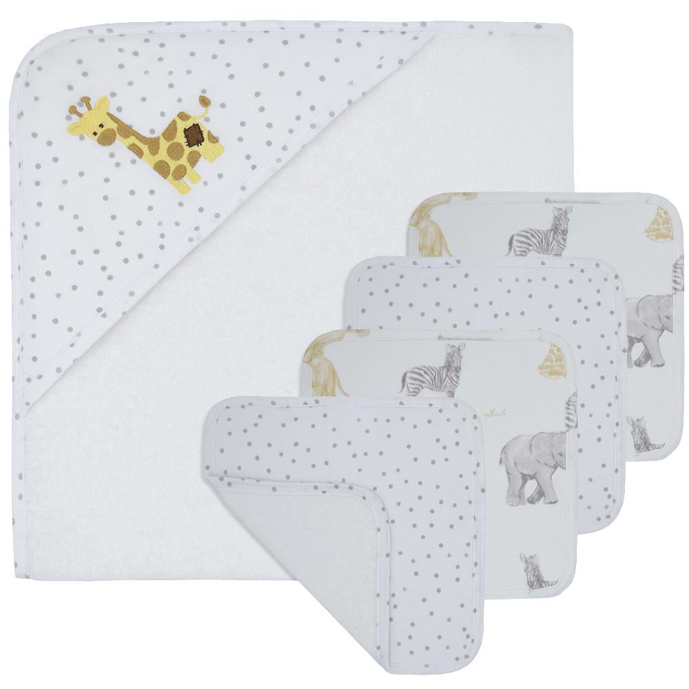 GIRAFFE BATH SET