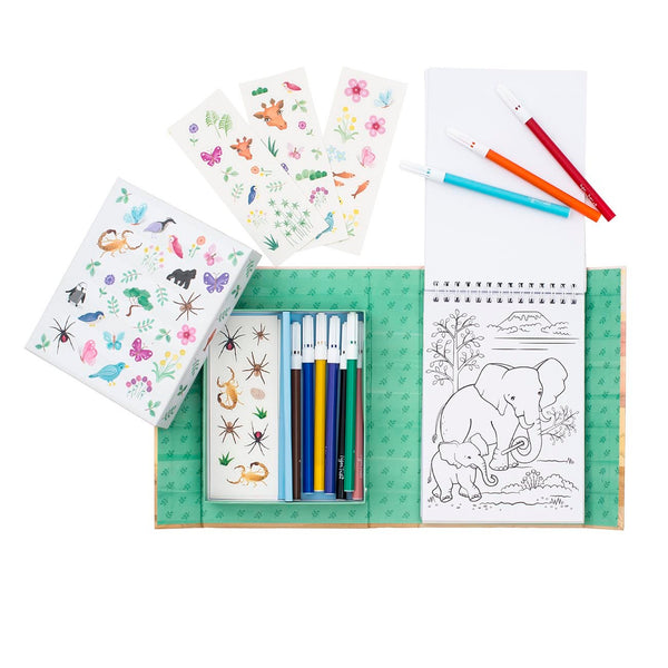 Colouring Set Animal All Stars