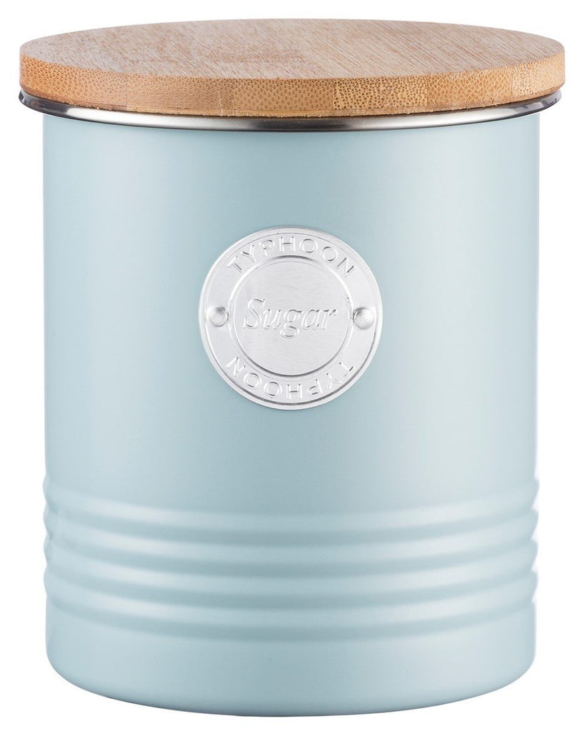 Typhoon Blue Sugar Canister