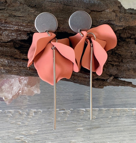 DIBORA LAYLA EARRINGS SALMON