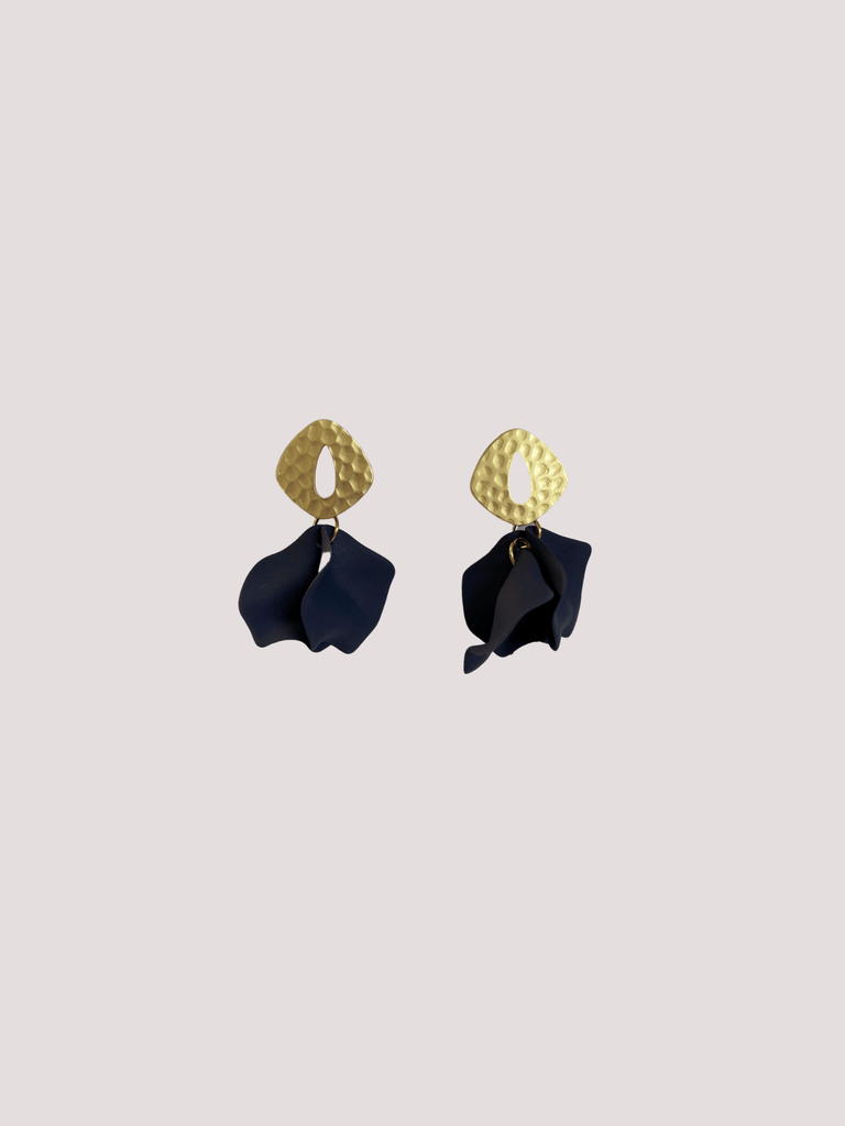 DIBORA ISABELLA EARRINGS DENIM