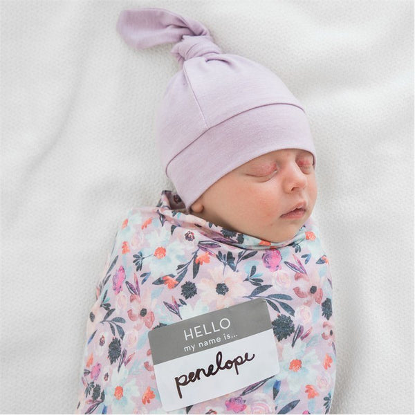 COPPER PEARL MORGAN HAT & SWADDLE GIFT SET