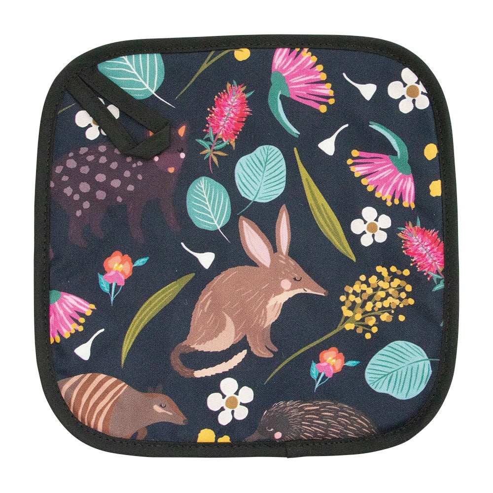 NOCTURNAL ANIMALS POT HOLDER