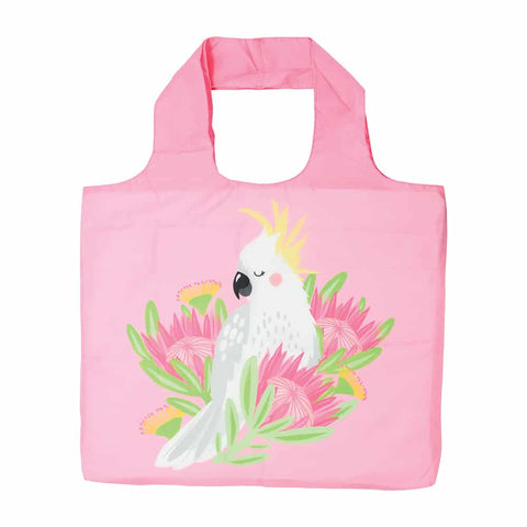 COCKATOO REUSABLE SHOPPING BAG