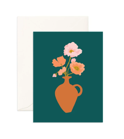 MUSE POPPIES CARD