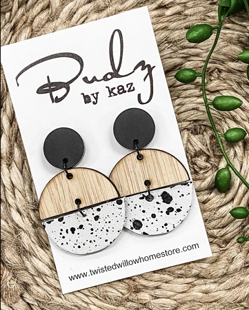 BUDZ BY KAZ BAMBOO & LEATHER DROPS