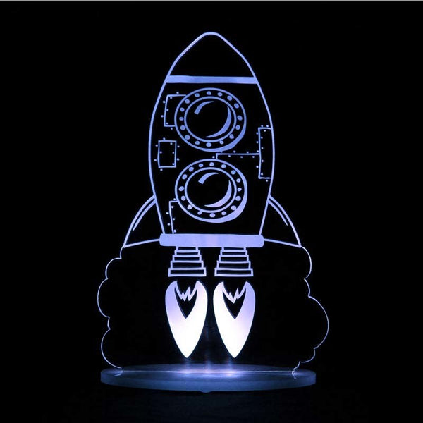 Rocket Dream Night Light
