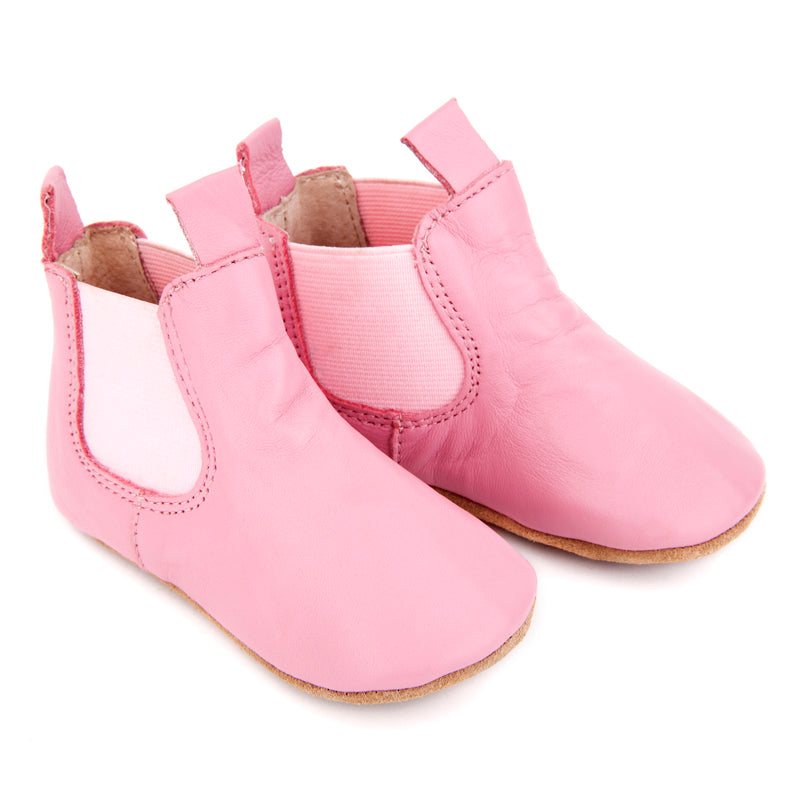 Skeanie Pre Walker Riding Boots Pink