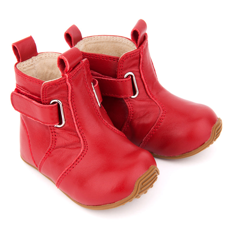 Skeanie Cambridge Boots Red