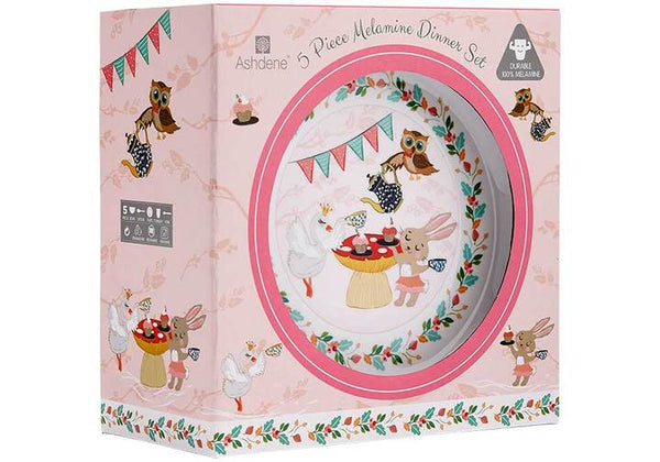 Tea Party Kids Dinner Set