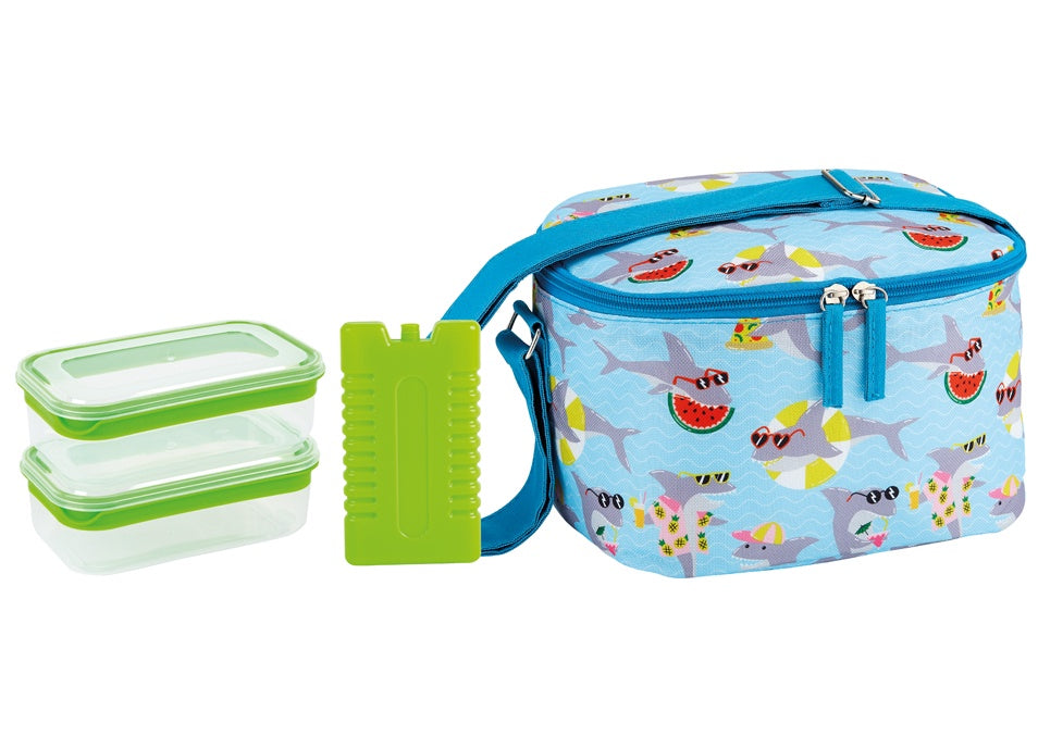 SUMMER FUN JAWSOME 4PC LUNCH SET