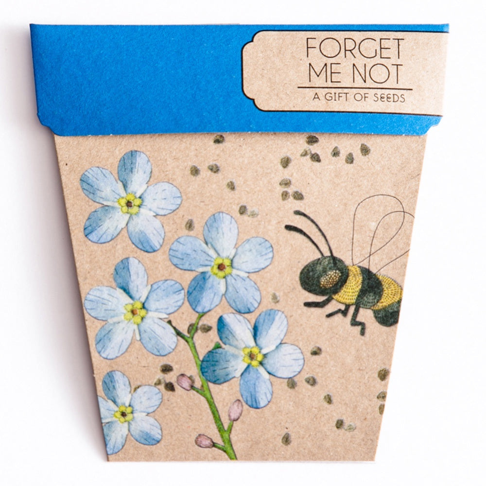 FORGET ME NOT GIFT OF SEEDS