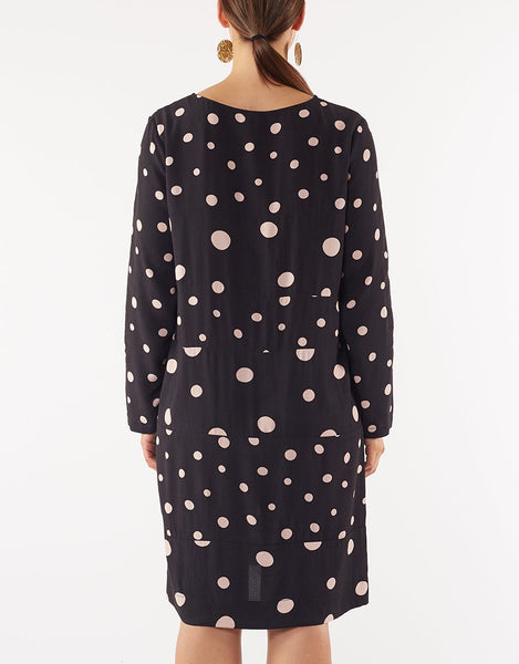 ELM HOLLY SPOT DRESS
