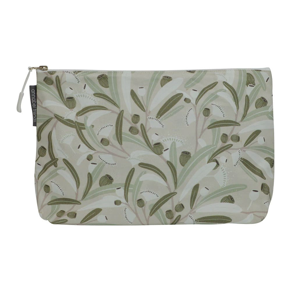 GUMNUTS SAGE COSMETIC BAG - LARGE