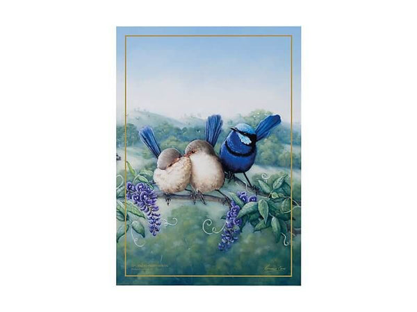 Birds of Australia KC 10yr Anniversary Tea Towel