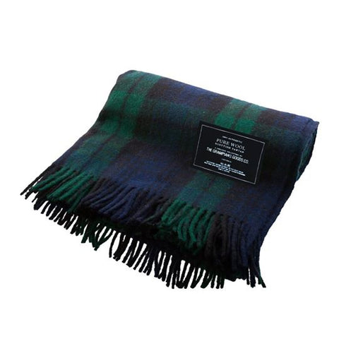 Recycled Wool Scottish Tartan Blankets | Heritage Collection