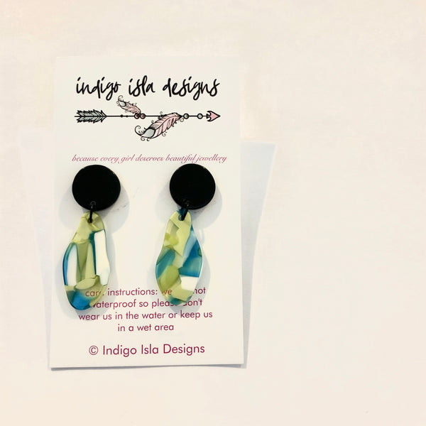 INDIGO ISLA LAYNIE EARRINGS