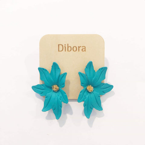 Dibora Large Flower Earrings
