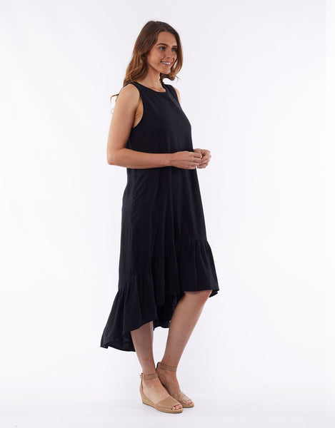 ELM JASMINE DRESS - BLACK