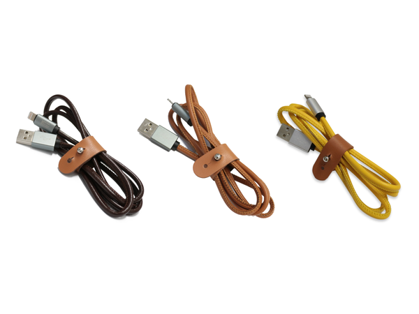 Leather Cable (2Sets) - LimitStyle Singapore