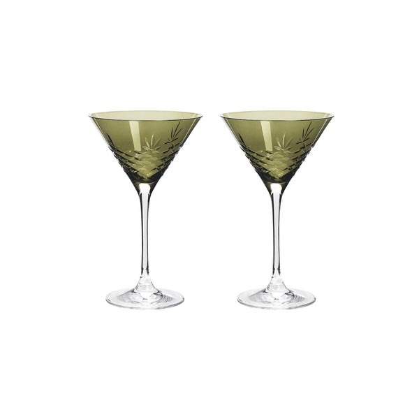 Crispy Cocktail Emerald // Green - 2 Pieces