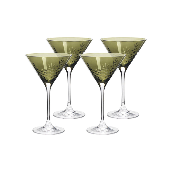 Crispy Cocktail Emerald // Green - 4 Pieces