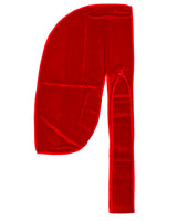 Red Velvet Color Du Rag- Premium Quality-Wave Cap