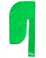 Lime Green Velvet Color Du Rag- Premium Quality-Wave Cap