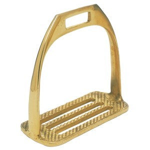 Solid Brass Four Bar Stirrups