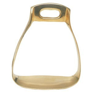 Solid Brass Brady Stirrups