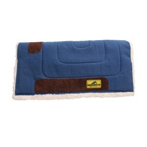 Fleece Lined Canvas Saddle Pad