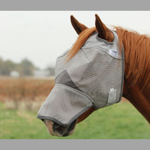 Crusader Fly mask with nose