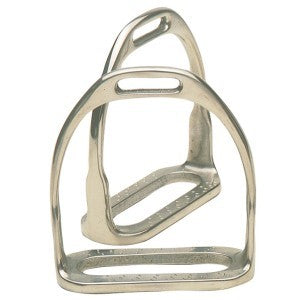 Chrome Plated Two Bar Hunting Stirrups