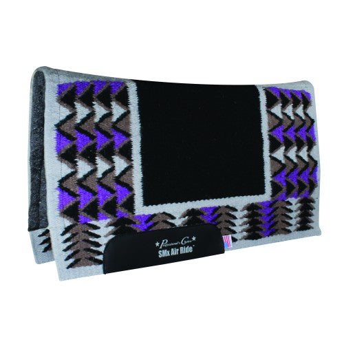 Pro Choice SMx Air Ride Barona Felt Lined Pad - Black/Purple