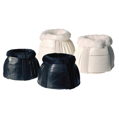 Ribbed Bell Boots w/Fleece Double Velcro