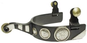 Roping Spur Black Mens