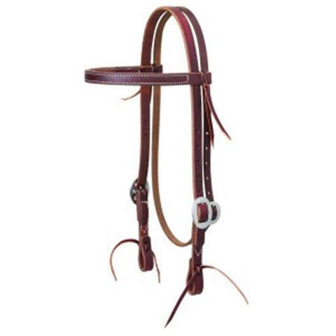 Weaver Cowboy Hand Tooled Headstall