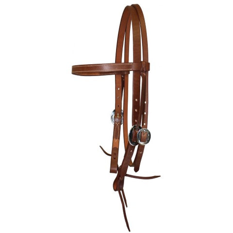 "Fort Worth 3/4"" Headstall Tan"