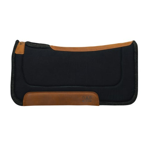 Weaver Work Felt Centre Saddle Pad - Black