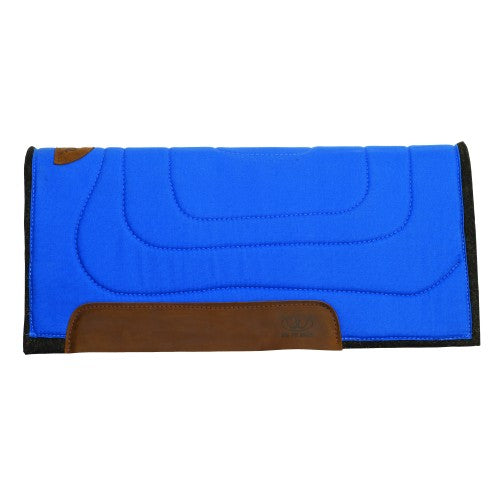 Weaver Work Ranch Felt Saddle Pad Blue
