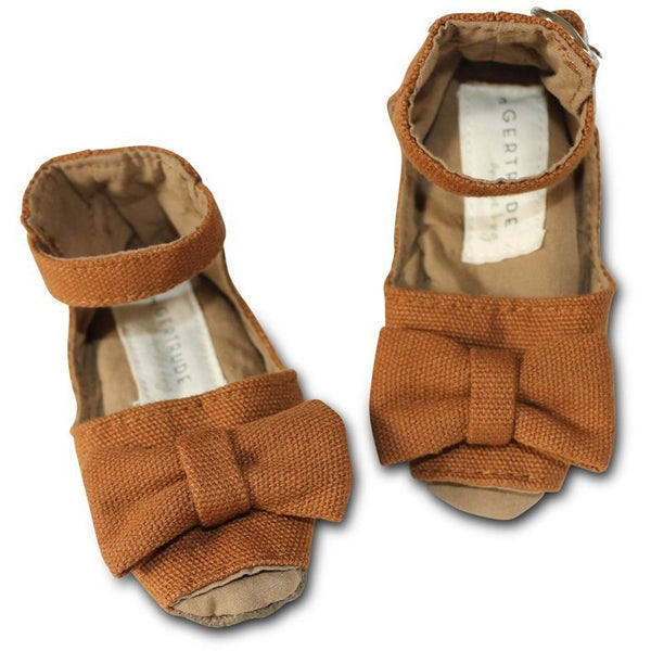 Mary Jane Peep-Toe Shoes-Desert | artisans.global