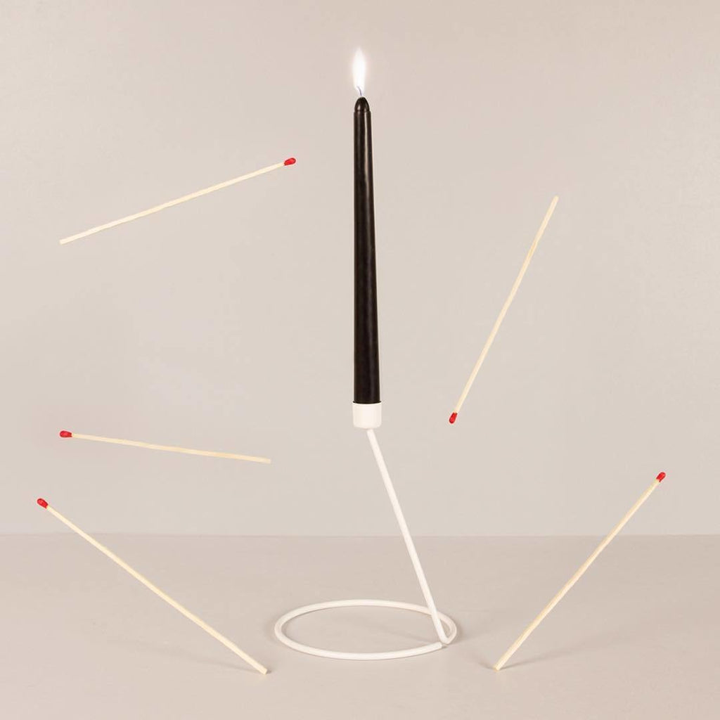FLAME TALL - Candle Stick Holders