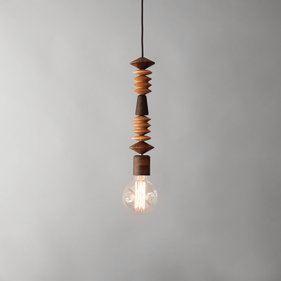 BRIGHT BEADS | AFRICA PENDANT LIGHT