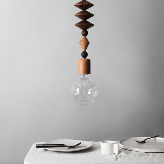BRIGHT BEADS | ART PENDANT LIGHT