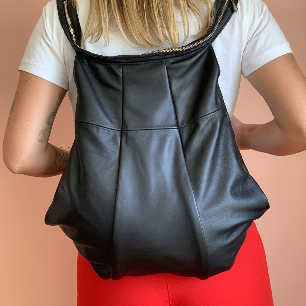 BALON LEATHER BACKPACK